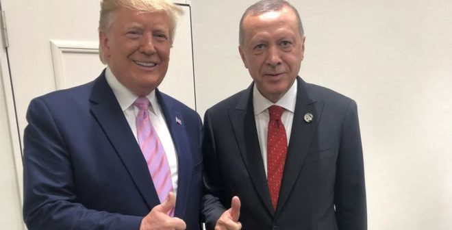 لقاء اردوغان – ترمب والعقوبات على أنقرة